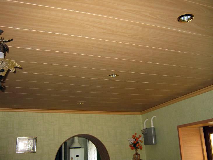Потолок из мдф своими руками фото