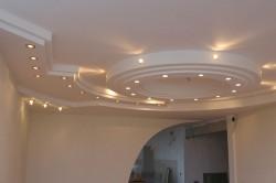 Комбинированная конструкция потолка