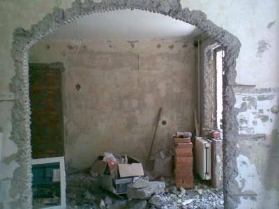 Вырезаем проем в стене