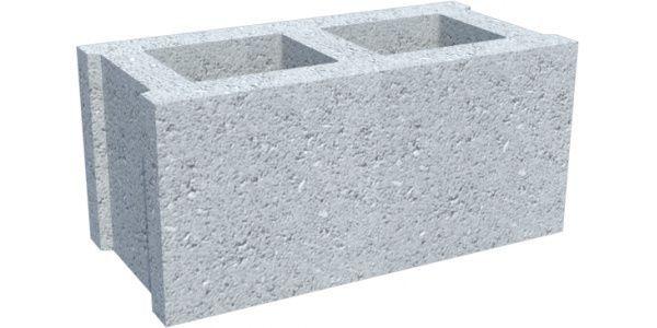 Пустотный, бетонный блок.