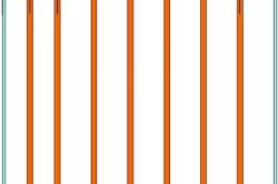 Рекомендуемая схема монтажа каркаса потолка из гипсокартона