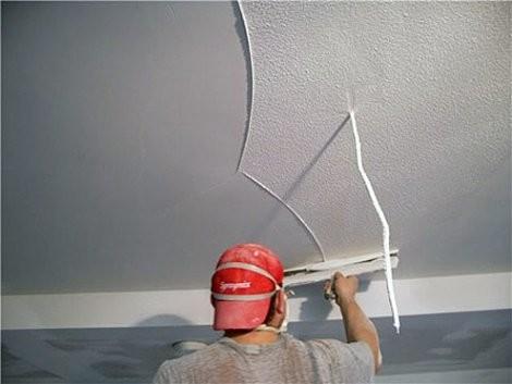 Технология шпаклевания потолка: поэтапное выполнение работы
