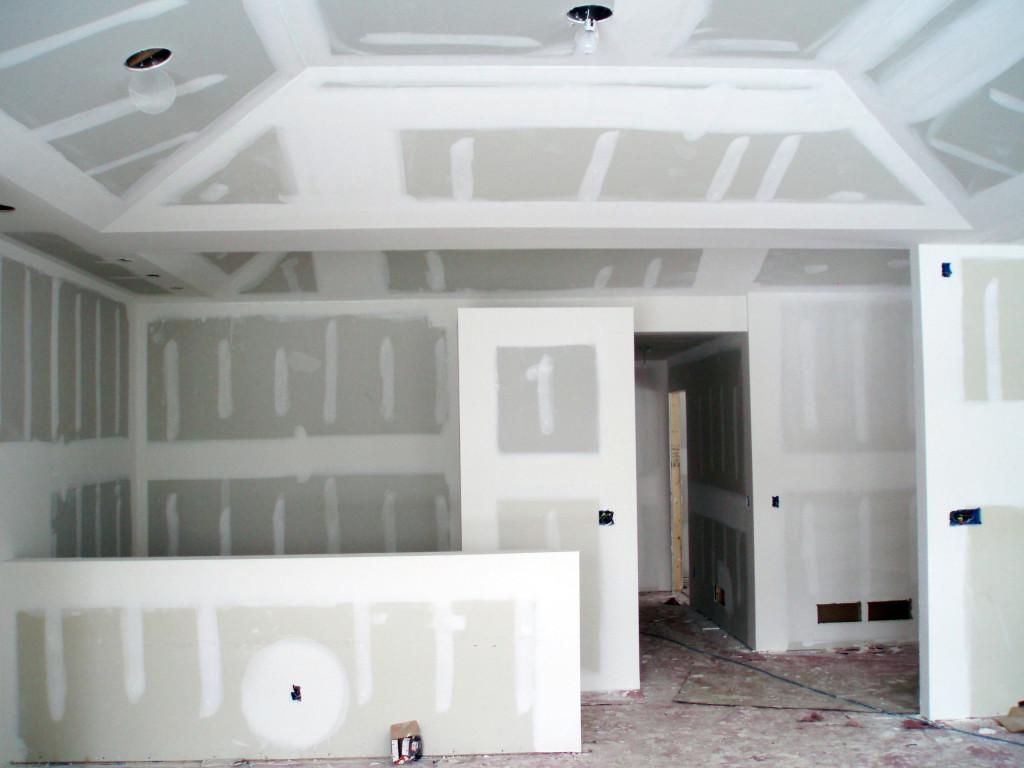 Стены из гипсокартона своими руками шпаклевка