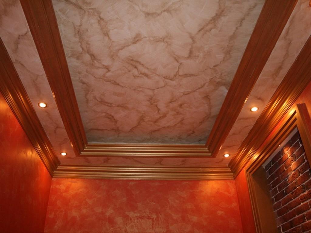 Dalle de polystyrene au plafond travaux interieur maison marne soci t afmys - Peindre mur ou plafond en premier ...