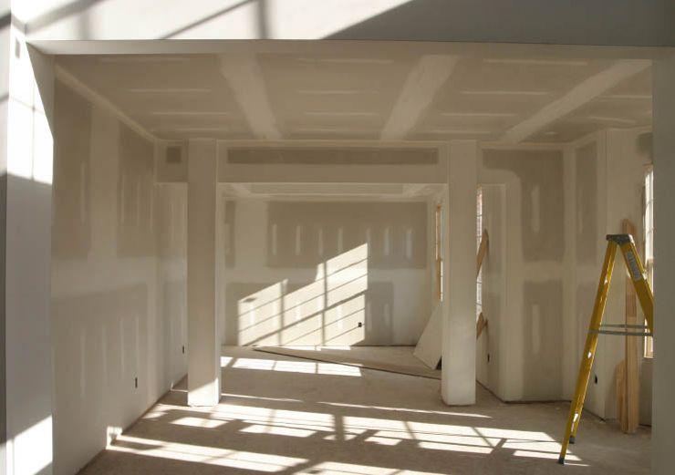 Отделка стен и потолка гипсокартоном
