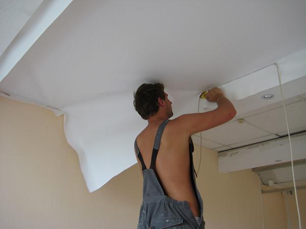 Ремонт потолков как это сделать