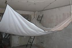 Подготовка к установке натяжного потолка