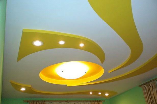 Многоуровневый подвесной потолок