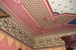 Обои для потолка в стиле восточной росписи