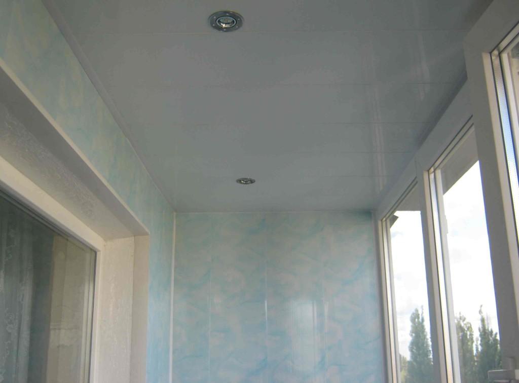 Потолок с пластика своими руками
