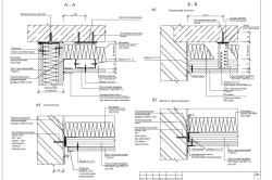 Чертежи гипсокартонных потолков