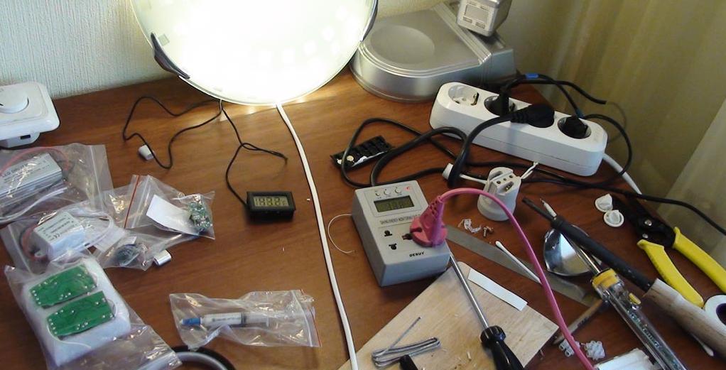 Инструменты для светодиодной лампы