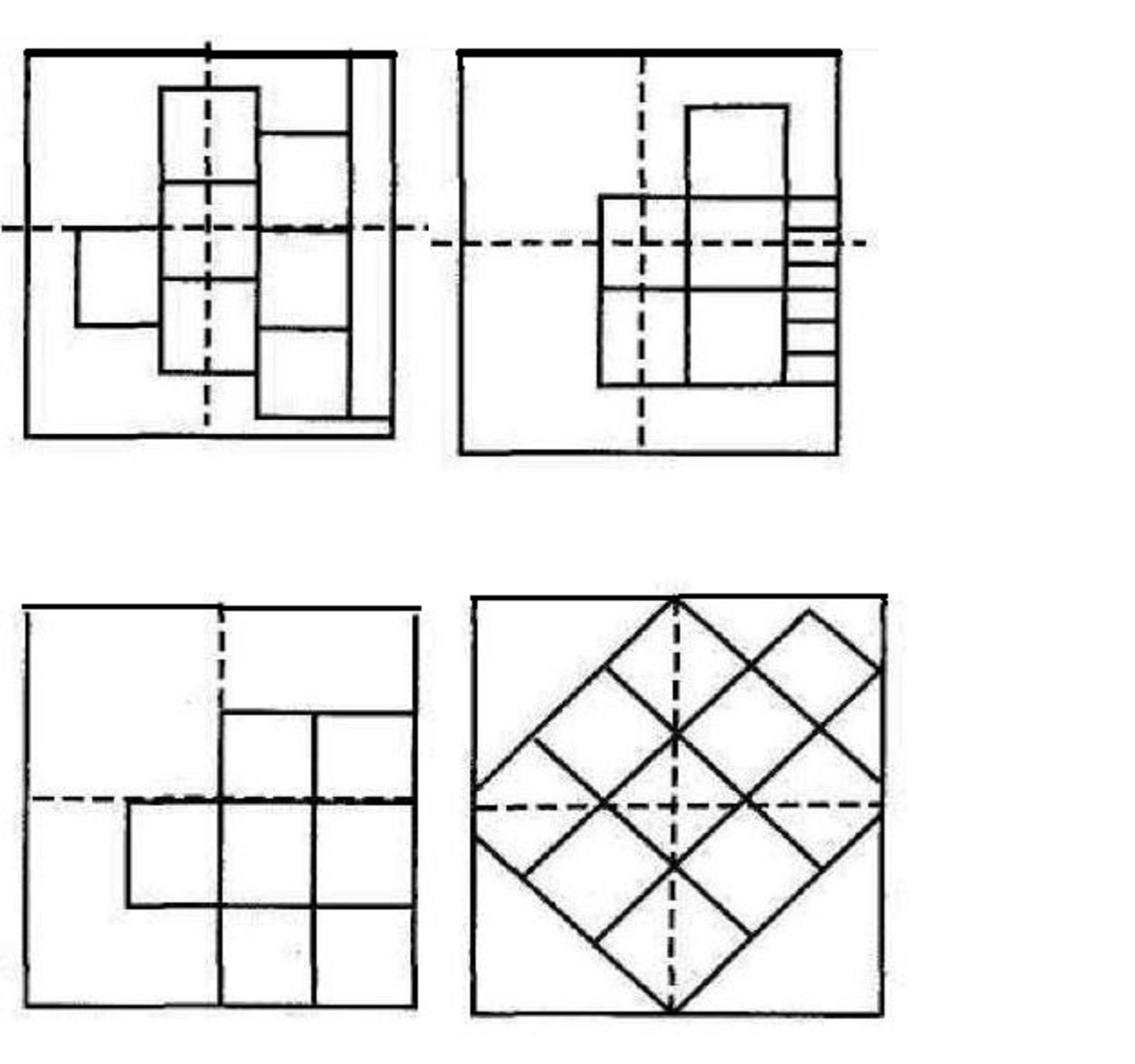 Популярные схемы расположения плиток