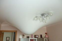 Протечка и натяжной потолок