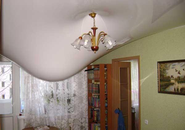 Затопление подвесного потолка