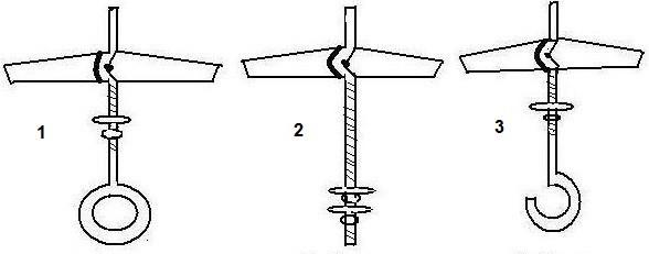 крепление люстры на крюк