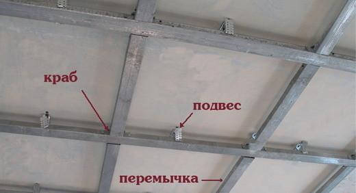 Подвесной потолок монтаж своими руками гипсокартон фото 183