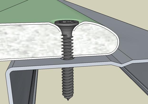 саморезы для перегородки из гипсокартона